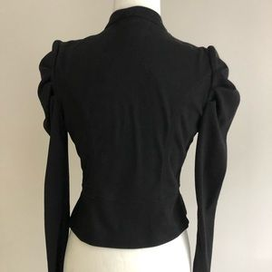 Metropark Jackets & Coats - Puff Shoulder Military Blazer